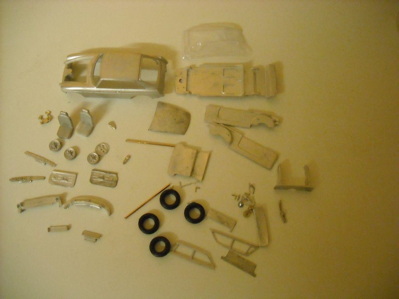 MGB GT Rubber Bumper 1 43rd scale white metal kit  by K & R Replicas