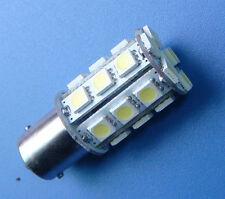 10x BA15S 1156 Car bulb AC/DC 12~24V 24-5050 SMD LED Super Bright, White #24AWZ