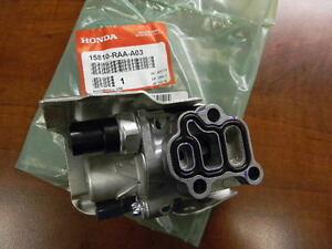 GENUINE HONDA ACURA OEM VTEC SOLENOID SPOOL VALVE WITH GASKET 15810-RAA-A03 | eBay