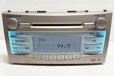 2007 TOYOTA CAMRY CD PLAYER RADIO MP3 86120-06180 OEM 07 08 09