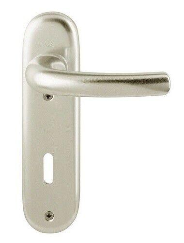 Hoppe Kurzschild Tokyo Garnitur BB Ausführung Aluminium neusilber 1710//273KP