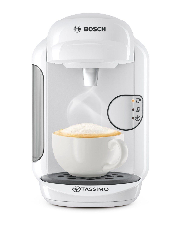 Bosch TAS1404 Tassimo Vivy 2 Multibeam Coffee Maker 1300W blanc Capsules Genuine