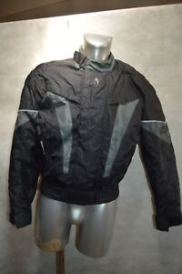 BLOUSON-RENFORT-MOTO-RICHA-TAILLE-M-GIACCA-CHAQUETA-JACKET-MOTORCYCLES-SCOOTER