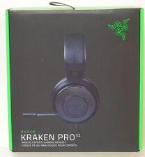 Razer - Kraken Pro v2 Wired Stereo Gaming Headset - Black- New