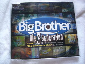 Big Brother - Die 3. Generation - LEB Der Big Brother Titelsong Maxi CD Single - Bayern, Deutschland - Big Brother - Die 3. Generation - LEB Der Big Brother Titelsong Maxi CD Single - Bayern, Deutschland