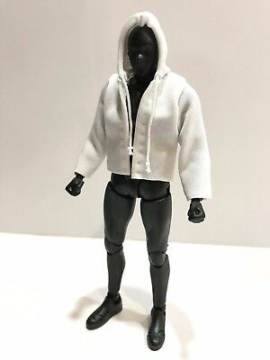 No figure SU-JKS-BK Figma 1//12 Small Black Wired Leather Jacket for SHF