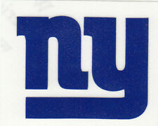 REFLECTIVE New York Giants fire helmet motorcycle hard hat decal sticker yeti