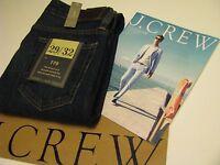Authentic J.crew 770 Jean In Dark Worn Wash Sz 29 / 32 $98.00