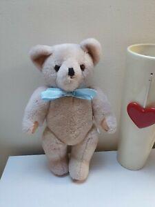 Vintage-Articulated-Teddy-Bear-Soft-Plush-Toy-Cuddling-Beige-Approx-12-034-Tall