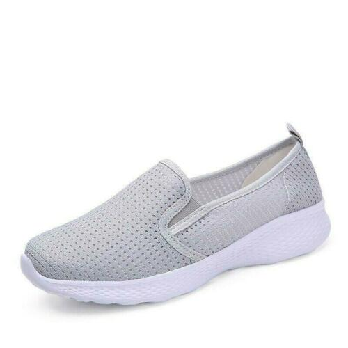 Details about  /Breathable Sports Running Shoes Womens Casual Athletic Sneakers Mesh Trainers