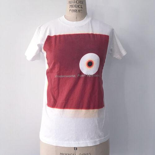 ⭕ 90s Vintage UNDER WORLD shirt : aphex twin bjork