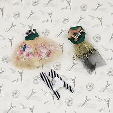 "4pcs  8"" Blythe Doll Factory Middle Blythe's  Contessa Margherita Outfit  JS79-2"