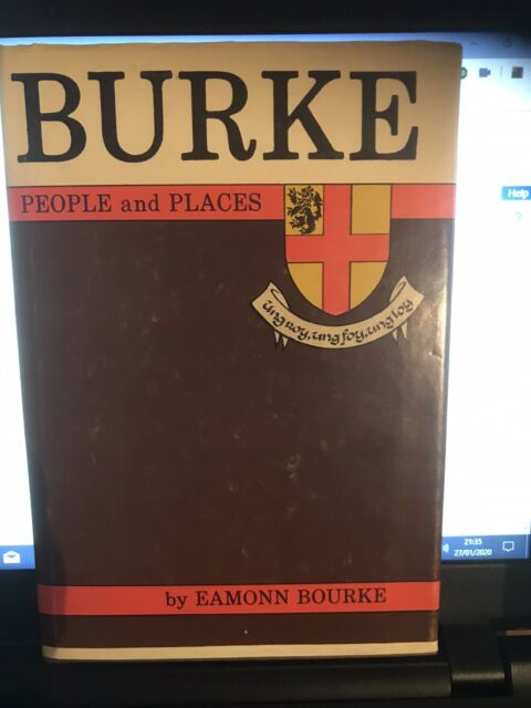 Burke People and Places by Burke, Eamonn