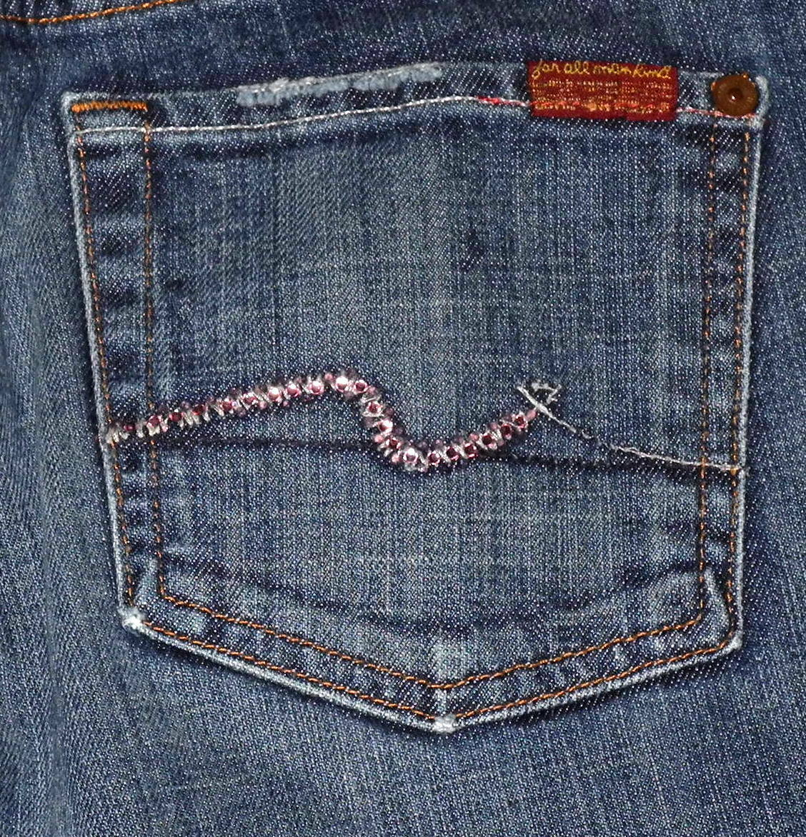 Seven 7 For All Mankind Boot Cut Women's bluee Jeans Sz 24 25 26 27 28 31 32