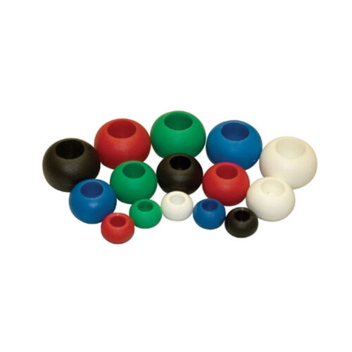 Holt Tie Ball Rope Stoppers Black 40mm