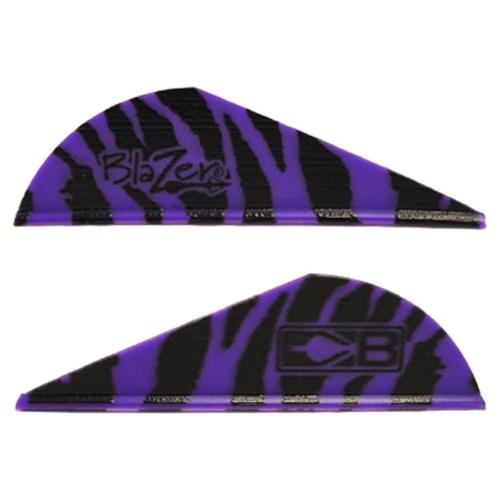 Bohning Blazer Vanes Tiger Purple 100 Pack