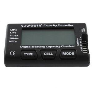 Li-lon-Kapazitaet-Tester-Akku-Tester-Lipo-Cell-Meter-LCD-Display-Messgeraet-QW