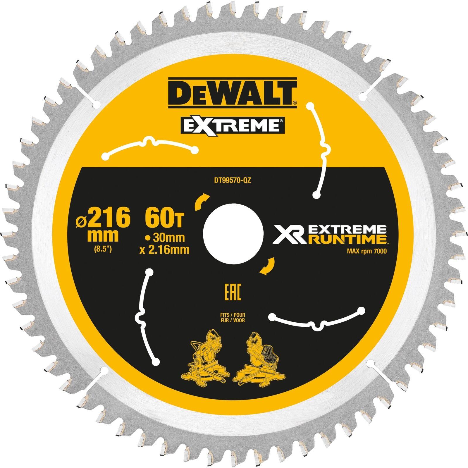 DeWalt Kreissägeblatt DT99570, 216mm   30mm, Sägeblatt