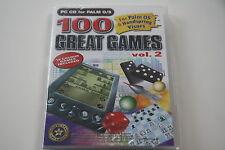 100 Great Games vol.2 per Palm OS & Handspring visors (PC) MERCE NUOVA
