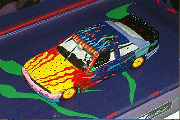 Fly E300 BMW M3 E30 - Art Car   Keith Donare Special box of Art Car 99022