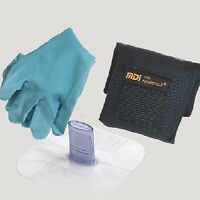 Cpr Mask With Micro-holster With Gloves - Fits On Holsters Or Belts