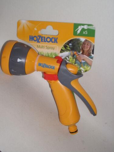 Nuevo Hozelock Agua Multi Chorro Pulverizador de pistola para tubos de manguera de jardín 2676