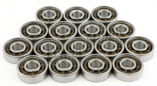16 Fast Roller Hockey High Speed Skate OPEN Bearing Set