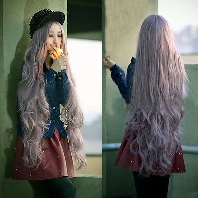 "Fashion 39"" Long Curly Hair Wavy Full Wigs Cosplay Costume/Daily Wear Sexy Wig"