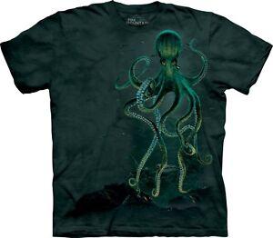 Unisex Camicia Octopus acquatica The Mountain Adulto 6pR0Oxpq