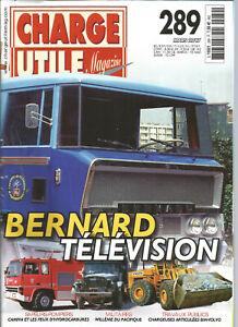 CHARGE-UTILE-N-289-BERNARD-TELEVISION-CAMIVA-amp-FEUX-D-039-HYDROCARBURES-BM-VOLVo