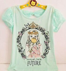 Girls BARBIE Disney Princess Character Cotton Short Sleeve T.Shirt Top,2 4 6 8YR