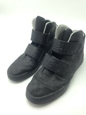 Nike Flystepper 2K3 Men's PRM Black Metallic Silver Basketball Sneaker Size 10