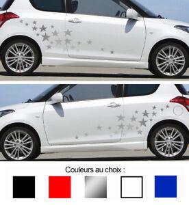 Auto, Moto – Pièces, Accessoires 1 X Set De 19 Etoiles Autocollant Sticker Deco Auto Bd411-1