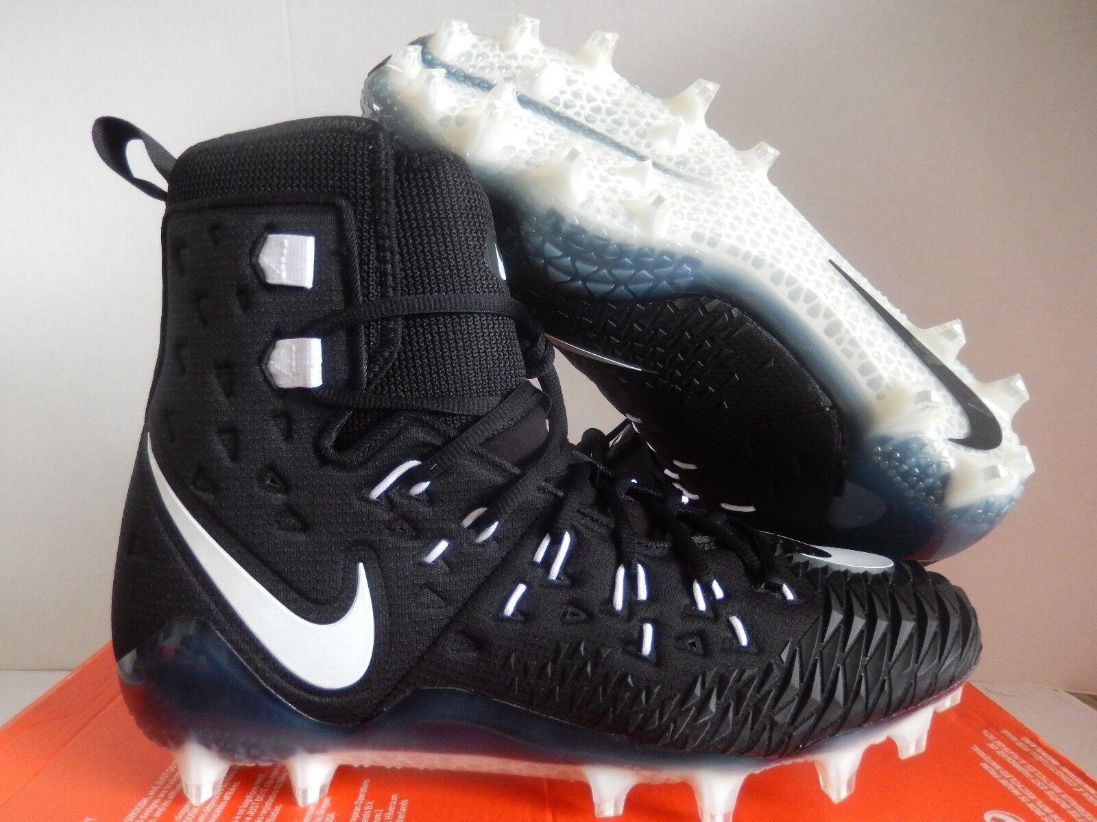 Nike Fuerza Salvaje Elite TD fútbol tacos Negro- [857063-011] blanco o- blanco o [857063-011] Negro- 7a116c