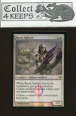 Foil NM-Mint 1x Blade Splicer English New Phyrexia MTG Magic