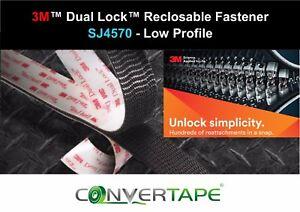 3M-SJ4570-Dual-Lock-Low-Profile-Adhesive-Recloseable-Fastener-Clear