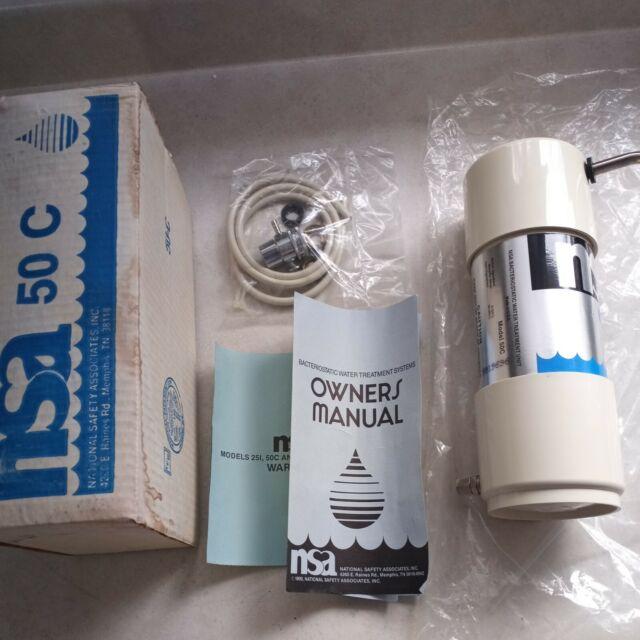 NSA Bacteriostatic Water Treatment Unit 50C New