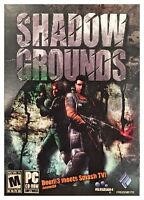 Shadow Grounds (pc, 2006) Sealed Retail Box - Free U.s. Shipping - Nice