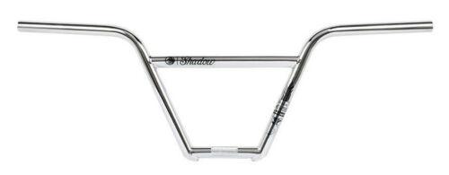 "SHADOW CONSPIRACY CROWBAR FEATHERWEIGHT BARS BMX BIKE FIT CULT HARO 8.7/"" CHROME"