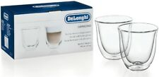 DeLonghi Double Walled Thermo Espresso Glasses Set of 2