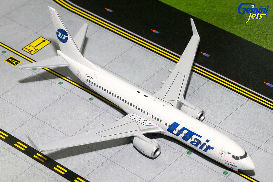 ofreciendo 100% UTair UTair UTair Boeing 737-800 KT VQ-Jiu-Jitsu brasileño Geminijets 1 200 Diecast modelos G2UTA618  solo para ti