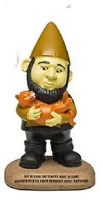 Star-Trek-TNG-Collectors-Android-Data-Polyresin-Garden-Gnome-Statue-Figure-New