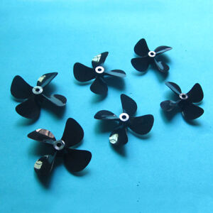 4-Blade-PC-Propeller-Prop-50mm-55mm-60mm-for-4mm-Shaft-Electric-Nitro-RC-Boat