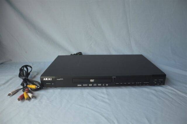 Rare Akai DV-PS760 DVD Player - great shape!! Works!! Plus A/V cable