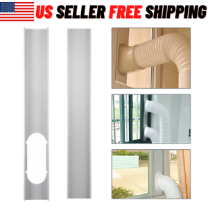 For Air Conditioner Midea Portable Adjustable Window Slide Kit Plate Wind Shield