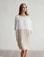 Womens-Casual-3-4-Sleeve-Dresses-Cotton-Linen-Ladies-Tunic-Tops-Short-Dress