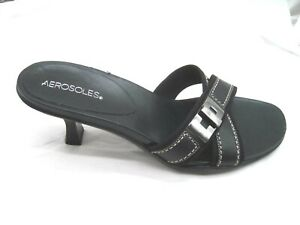 Aerosoles-10B-41-Holy-Macro-black-womens-comfort-slides-shoes-sandals-heels