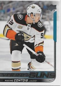 2018-19-Upper-Deck-216-Maxime-Comtois-YOUNG-GUNS-Rookie-gt-Anaheim-Ducks