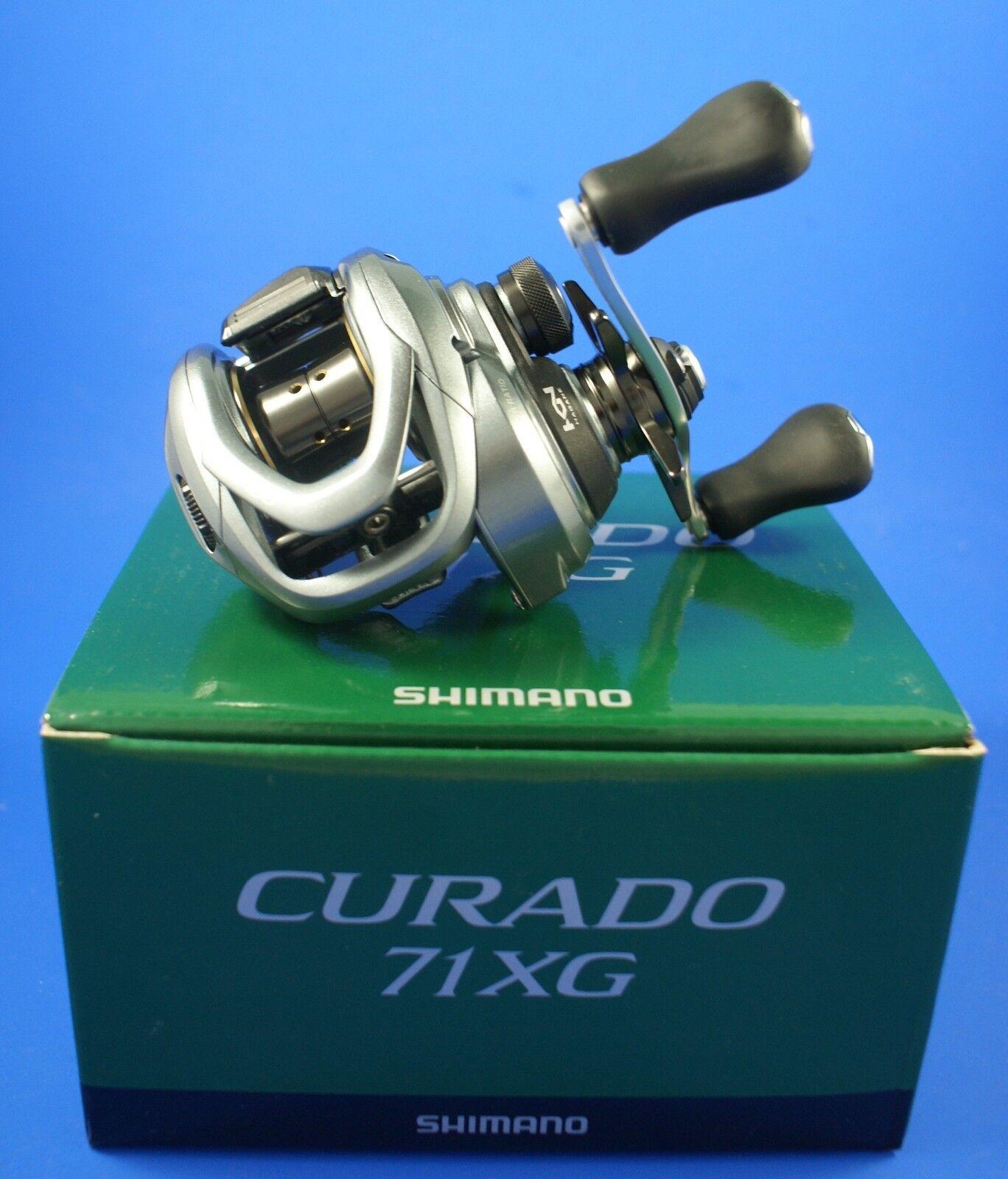 Shimano Curado 71 XG    CU71XG    Baitcasting Reel (Left Hand)