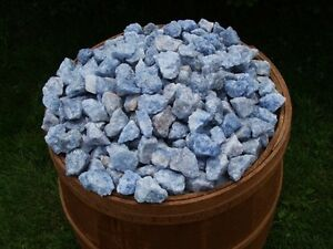 1000-Carat-Lots-of-Unsearched-Natural-Blue-Calcite-Rough-FREE-faceted-gemstone